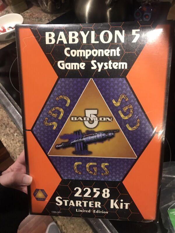 Babylon 5 Component Game System 2258 Centauri Republic 1 Player Starter Kit