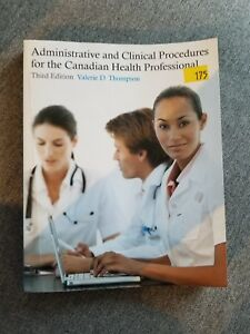 Canadian Health Professionals textbook