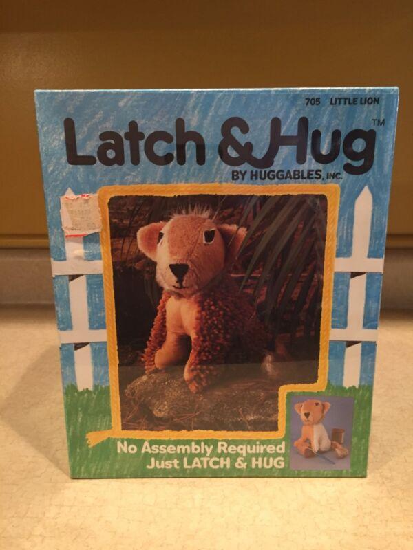 NEW Sealed Huggables Latch & Hug Little Lion Kit Unopened Ages 8 & Up 1983