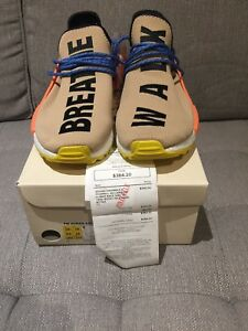 ADIDAS HUMAN RACE NMD TRAIL PALE NUDE SIZE 10.5 AND 12