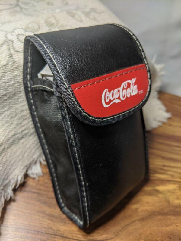 Vintage Coca Cola Cell Phone Cigarette Case 90s Collectable Carrier