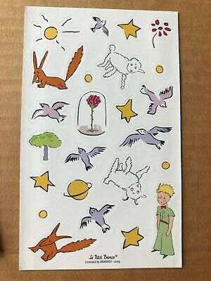 Moleskine Daily Planner Le Petit Prince The Little Prince Sticker Sheet ONLY