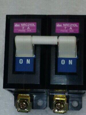 Tel Tokyo Electron Nrc21ol Gas Box Circuit Breaker 2 Pole 7 Amp 220v Take Out