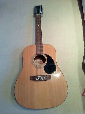 12 string acoustic guitar Stagg