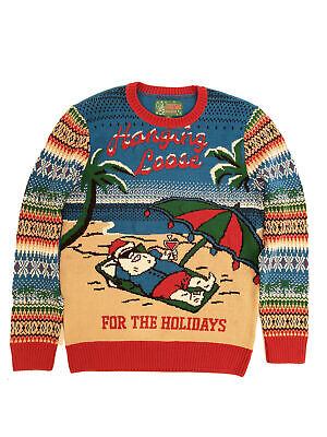 Ugly Christmas Sweater Plus Size Women's Hangin Loose Light Up - Christmas Sweater Ugly