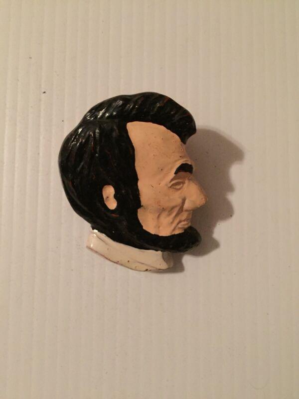 Vintage Abraham Lincoln Neckerchief NealSlide Hand Painted
