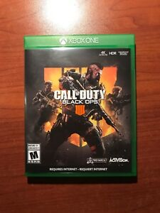 Call of Duty Black ops 4 xbox 1