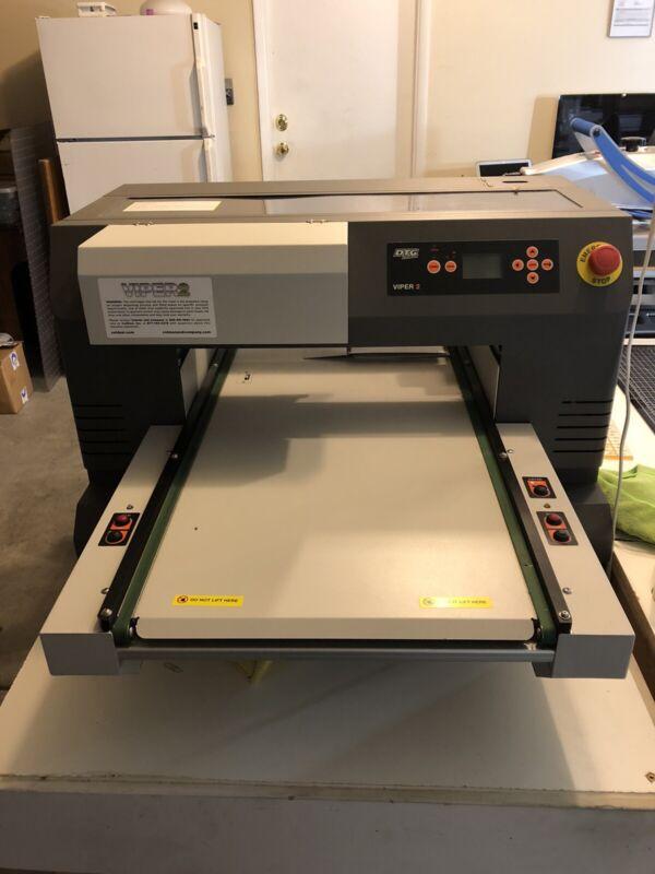 DTG Viper 2 Direct to Garment Printer+Spider Mini Auto Pretreat Machine BUNDLE!
