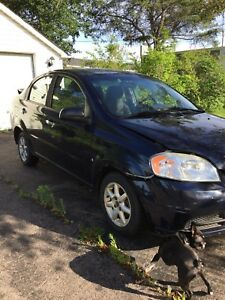 Damaged 2010 Pontiac G3 Wave for Parts or Beater