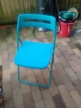 Aqua fold out chair McGraths Hill Hawkesbury Area Preview