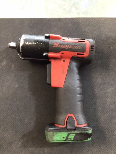 Snap On CT761A 14.4v 3/8 MicroLithium Cordless Impact With BATTERY. No Charger!