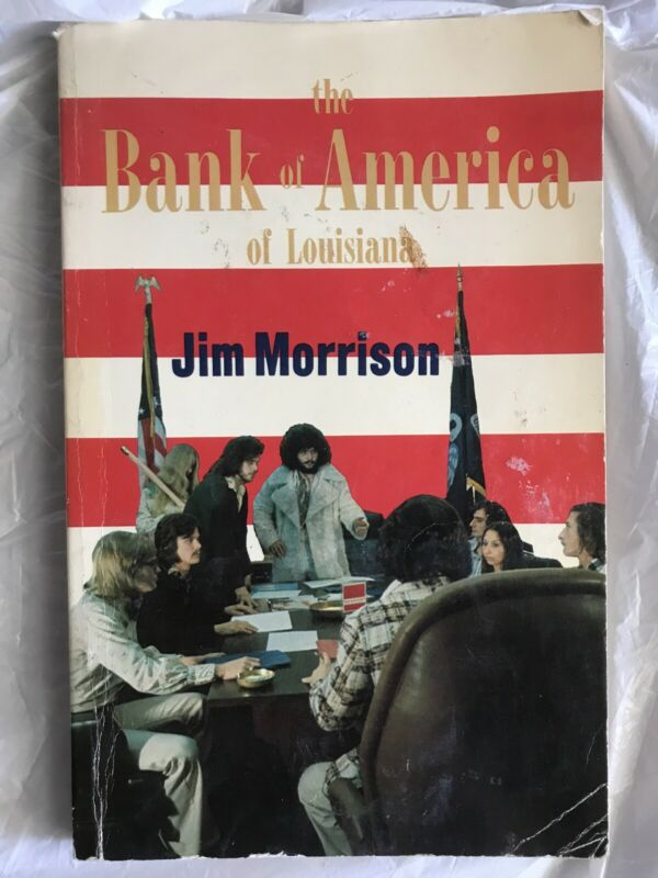 The Bank of America of Louisiana by Jim Morrison The Doors Zeppelin Label 1975