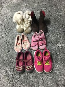 Girls shoes size 9-11