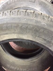4 Michelin X-Ice for sale 225/65R17