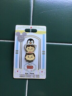Disney pin D23 2017 Mary Poppins Bert Penguin Tsum Tsum Limited Edition 3000