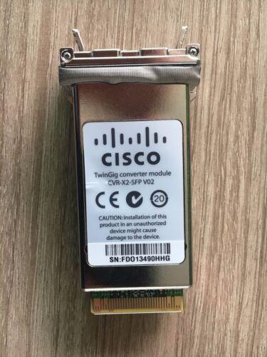 1pc New Genuine Cisco Cvr-x2-sfp V02 Twingig Converter Module