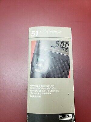 Fluke 51 Kj Thermometer Manual