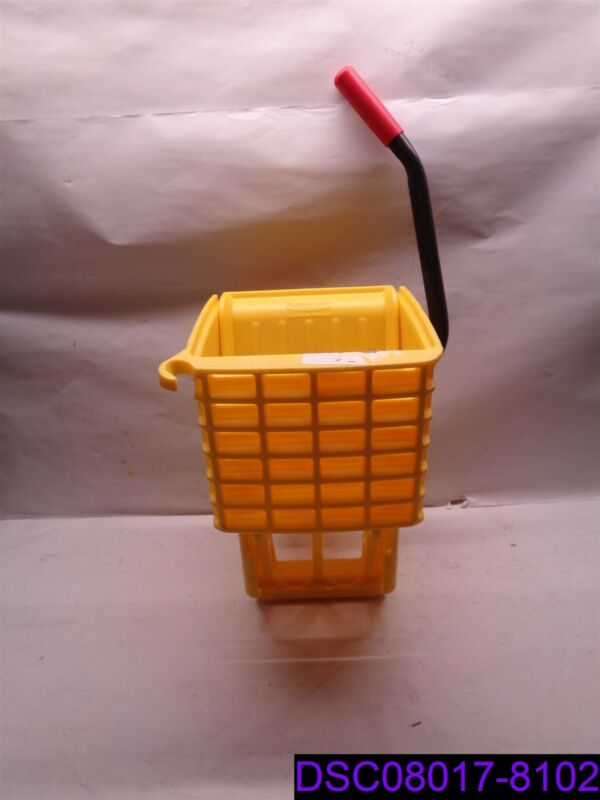 WRINGER ONLY Rubbermaid Yellow Side Press Commerical Mop Bucket Wringer