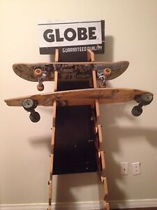 Globe Longboard/Skateboard Display Stand