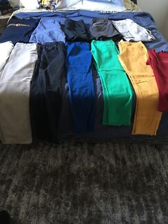Small mans 10 pants & shorts&2shirts all $30 only Armani jeanswes
