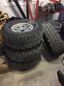 Jeep rims and tires