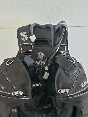 Large Scuba Pro Glide Vest BCD With Buckle Weight System