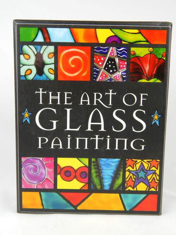 The Art Glass Painting Kit & Book 2003 Top That! Publishing New In Box