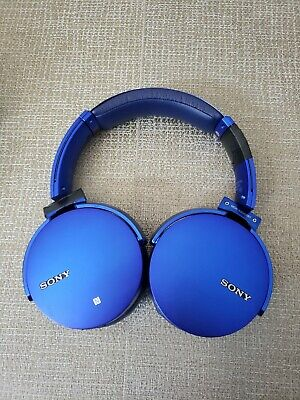 Sony MDR-XB950B1 Extra Bass and App Control Bluetooth Headphones MDRXB950B1 Blue