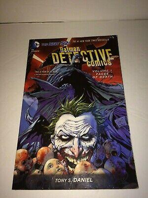 Batman: Detective Comics Vol. 1: Faces of Death TPB The New 52 VF Tony