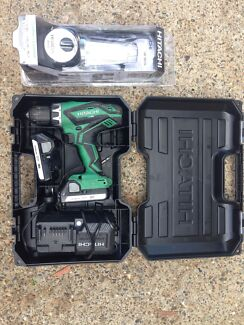 18V Hitachi cordless drill pack and lantern  Gaven Gold Coast City Preview
