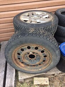 Winter tires and rims 225 60R 18