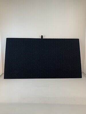 Black Velvet Chain Jewelry Display Board Tray Insert 14 18 X 7 58