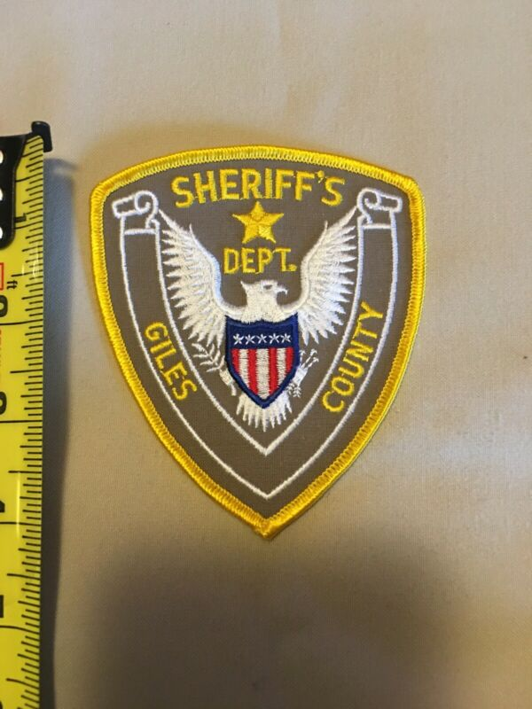 Giles County Tennessee Sheriff Patch