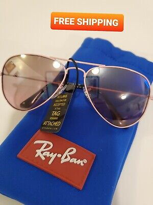 NEW RAY-BAN JUNIOR RJ 9506S 211/7E PINK AUTHENTIC FRAMES RX SUNGLASSES 50-13