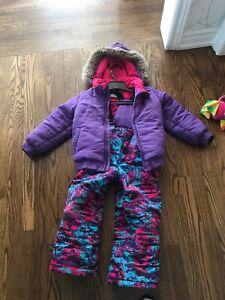 Girls snowsuit