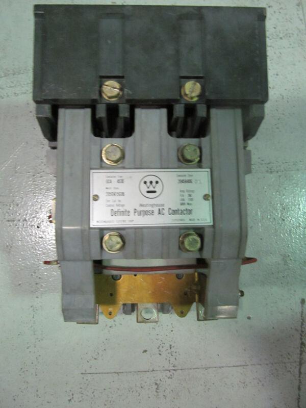 Westinghouse GCA4530 Size 5 Contactor 2045A40G