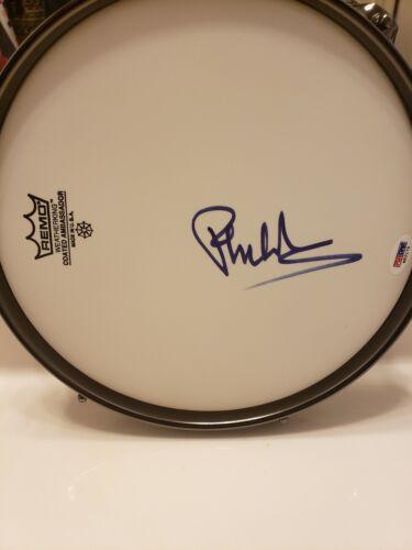 Autographed Phil Collins 10 Inch Remo Drum Head/PSA Cert