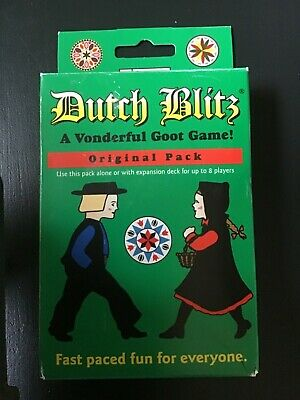Dutch Blitz Card Game Pennsylvania family Game Original Complete OPEN BOX NEW Dutch Card Game