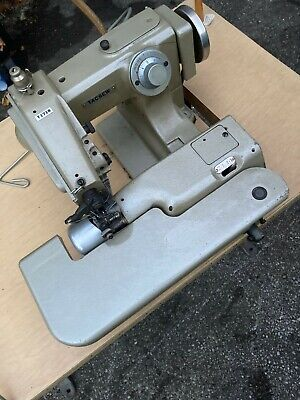 Tacsew T1718 Blind Stitch Industrial Sewing Machine With Motortable