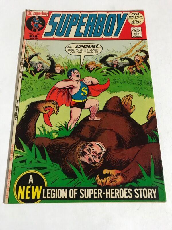 Superboy #183 (1972 DC Comics)