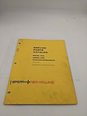 New Holland Service Parts Catalog 346 365 Manure Spreader 2-79
