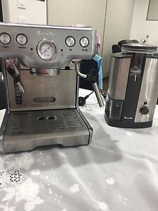 Breville double coffee machine + coffee grinder Daceyville Botany Bay Area Preview