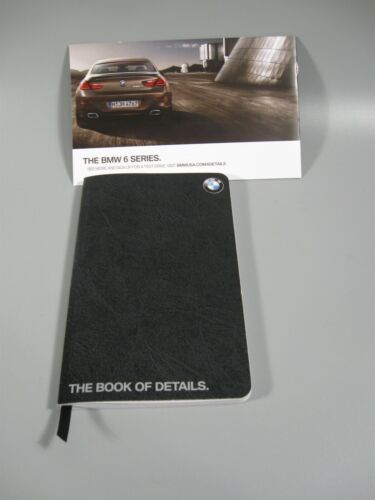 BMW 6 Series Book of Details Note Pad