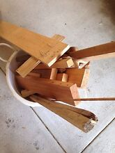 Firewood bag tub untreated off cuts suitable for chimera bbq fire pit Cooloongup Rockingham Area Preview