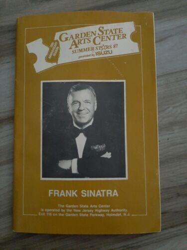 VINTAGE GARDEN STATE ARTS CENTER SUMMER STARS 87 PROGRAM FRANK SINATRA 20TH ANNI