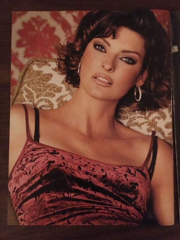 LINDA EVANGELISTA Supermodel Fashion Photography  EXTREMELY RARE