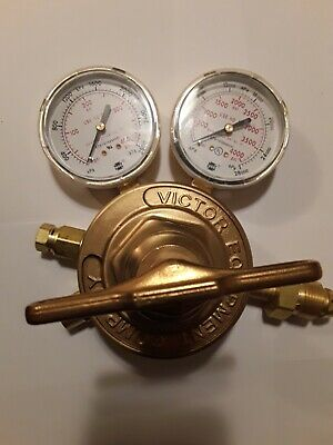 New Old Stock Victor Heavy Duty Pressure Regulator Gas Sr450e