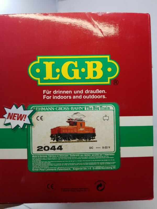 LGB 2044 ELECTRIC RHB LOCOMOTIVE G SCALE EXCELLENT CONDITION