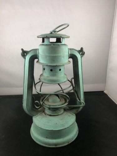 "feuerhand lantern small blue germany 7.5"" 175 Super Baby"