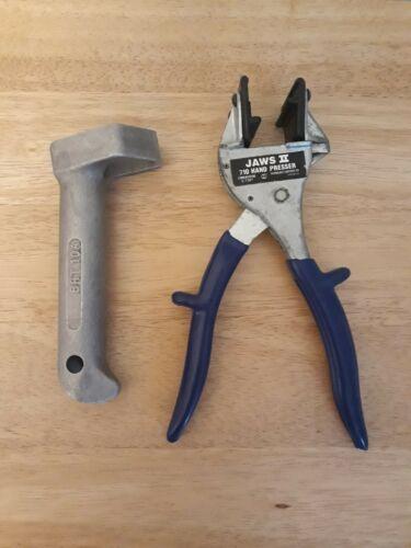 710 Splice Module Tools 25 Pair Jaws II Hand Presser C-7387 & Bridge Removal Cap